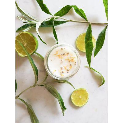 Verveine citron Bougie parfumée Pot de saison Bougies