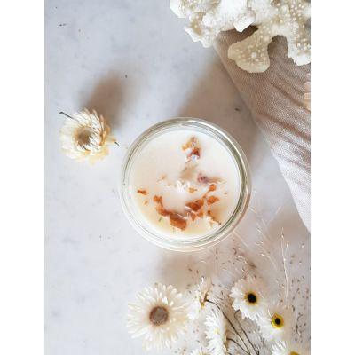 Musc blanc Bougie Parfumée Pot de saison Les pots de saison