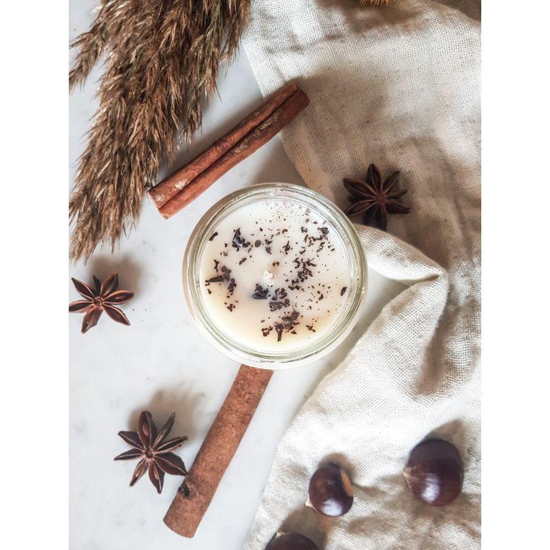 Thé Chaï Latte Bougie Parfumée Pot de saison Les pots de saison
