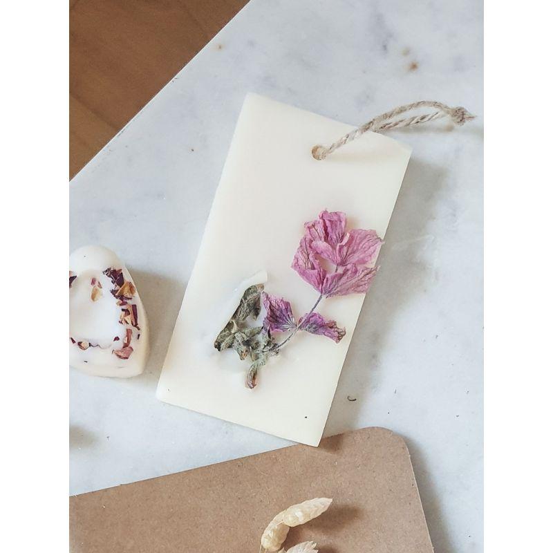 Pois de senteur Tablette de cire parfumée Tablette de cire parfumée fleurie