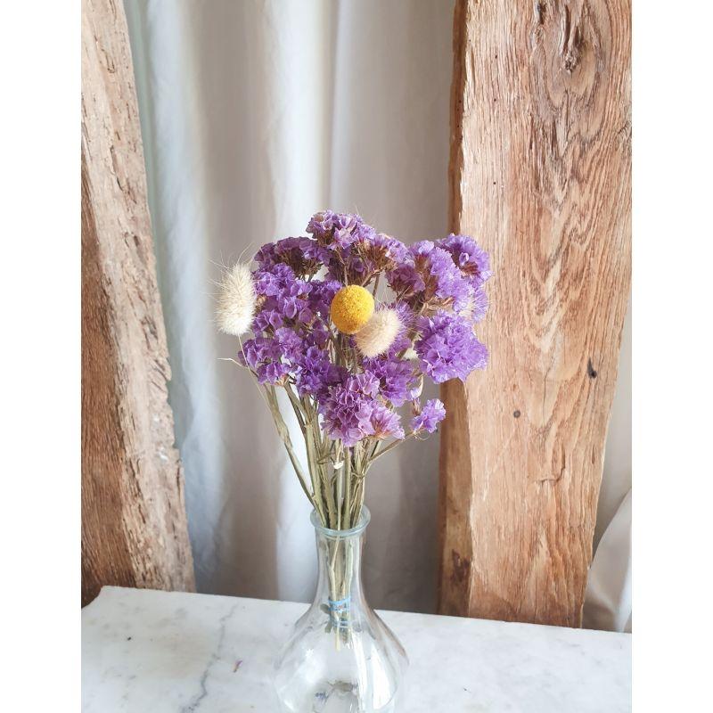 Petit Bouquet de fleurs séchées mauve Les bouquets