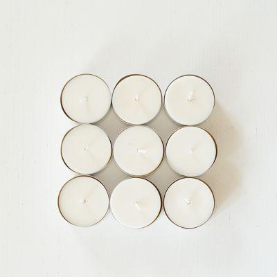 Bougies chauffe-plats cire végétale de colza lot de 10 Les bougies chauffe-plat