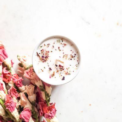 Bougie parfumée naturelle cadeau invité évènement mariage Mariage