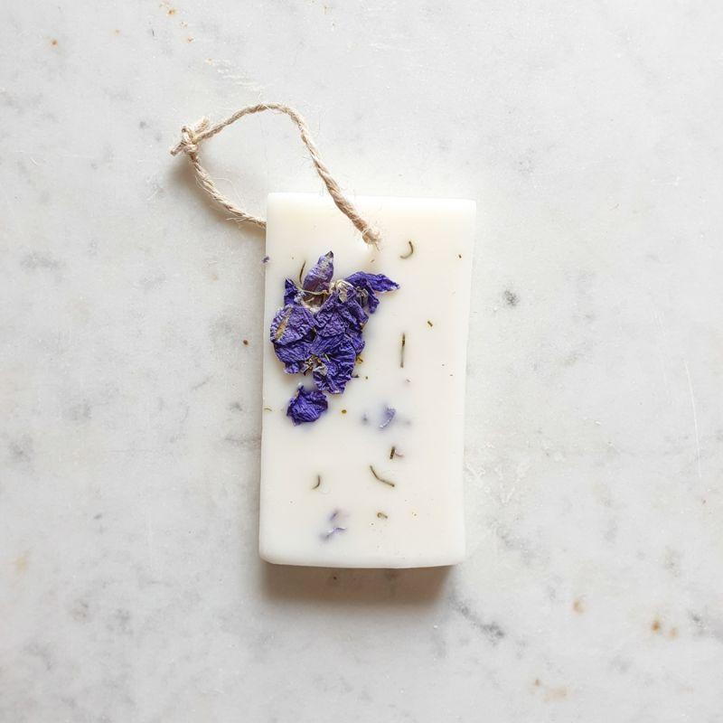 Poudre de riz Tablette de cire parfumée Tablette de cire parfumée fleurie