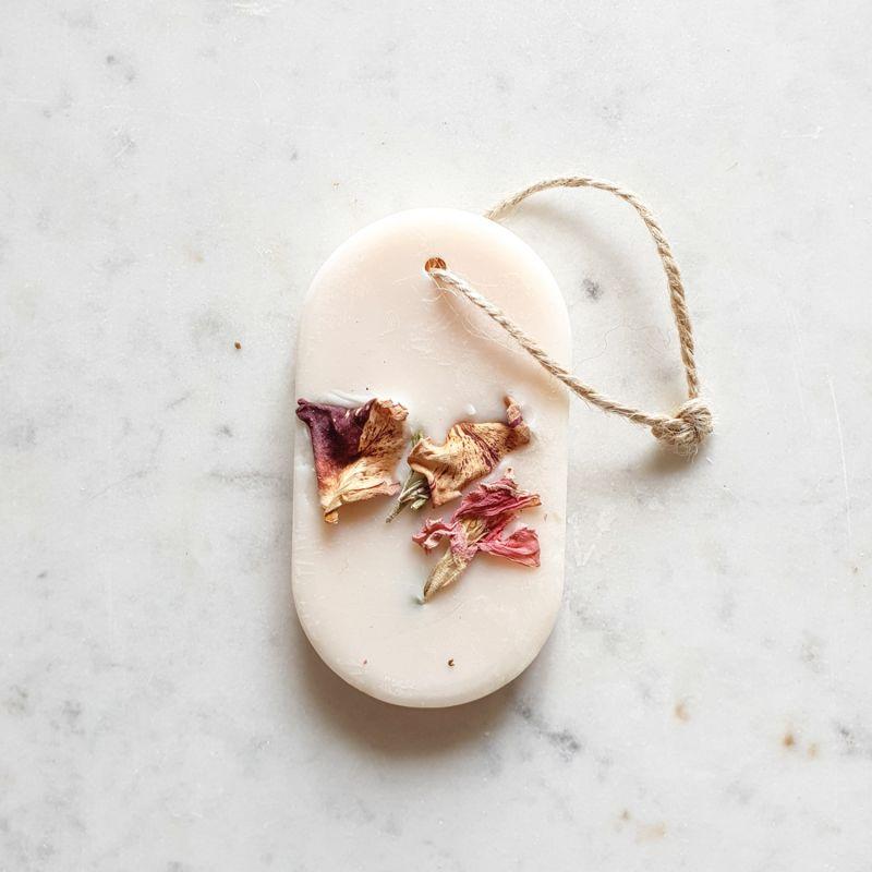Coquelicot Tablette de cire parfumée Tablette de cire parfumée fleurie