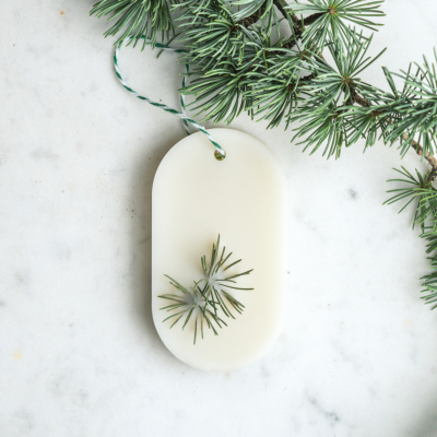 Cèdre Tablette de cire parfumée Tablette de cire parfumée fleurie