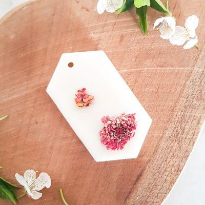 Fleur de cerisier Tablette de cire parfumée Tablette de cire parfumée fleurie