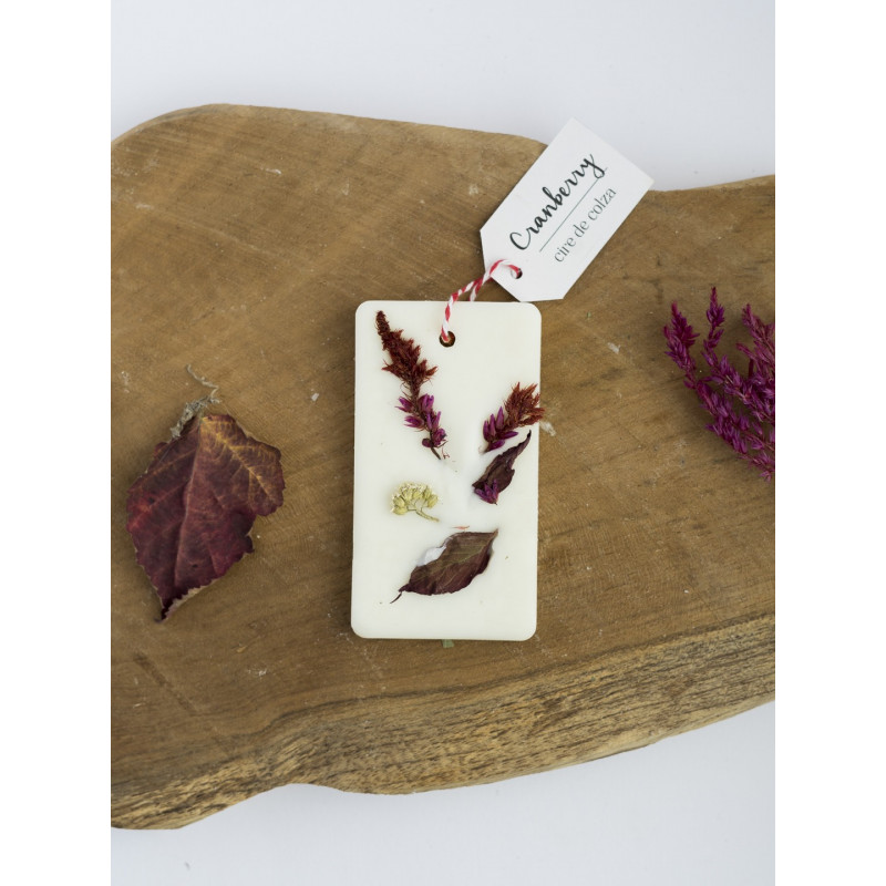 Cranberry - Tablette de cire parfumée Editions limitées