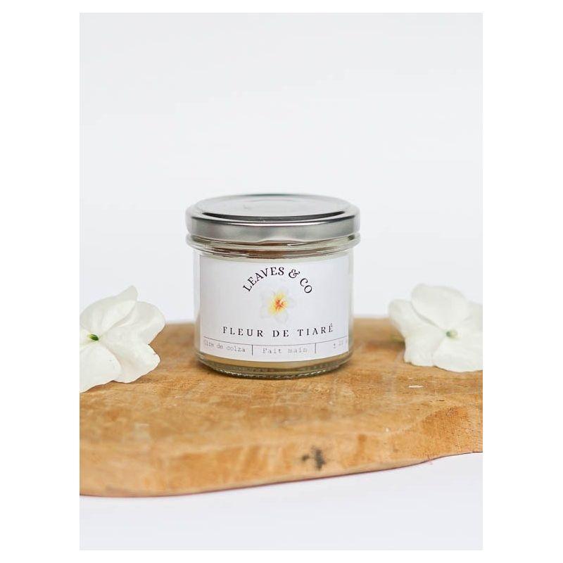 Bougie parfumée Fleur de tiaré - Petit pot à couvercle Bougies