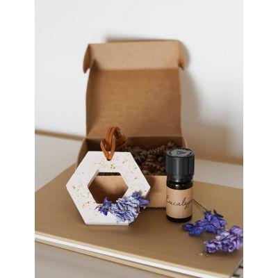Pendentif parfumé pour voiture - Dauphinelle Décoration florale