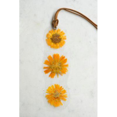 Marque-page - Soucis Décoration florale