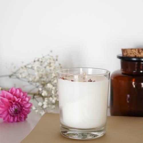 Bougies parfumée cire naturelle